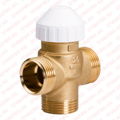 """Трехходовой латунный зональный клапан для фанкойлов 1"""" (25 мм) Watts"""