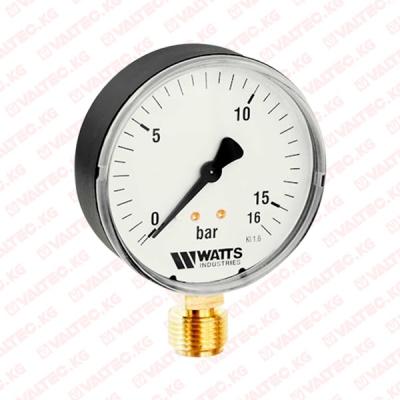Манометр радиальный 63 мм Watts