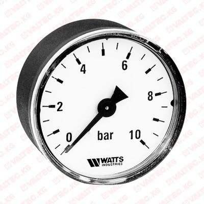 Манометр аксиальный 80 мм Watts