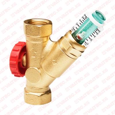 """Балансировочный вентиль SRVOL со встроееным расходомером  1"""" (25 мм) Watts"""