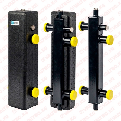 Гидравлическая стрелка 3 м³/час (вертикальная) STOUT