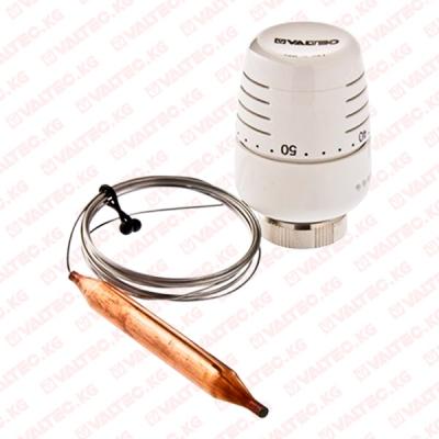 Термостатическая головка с выносным погружным датчиком Valtec