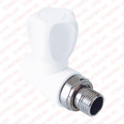 Кран PPR для радиатора, прямой, РТП