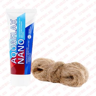 Лён + паста (15гр+30гр) Aquaflax Nano.