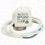 Электретермический сервопривод нормально закрытый, питание 220B Watts