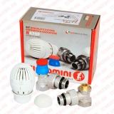Комплект терморегулирующего оборудования угловой Giacomini